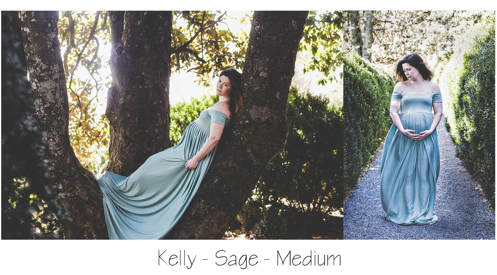Maternity Photo Session: Sage Kelly Gown, Sage Maternity Dress