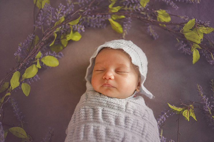 newborn baby photography: loudoun county newborn