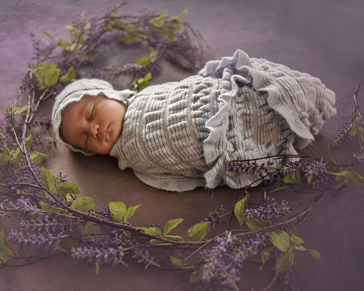 infant pictures: loudoun county newborn photographer
