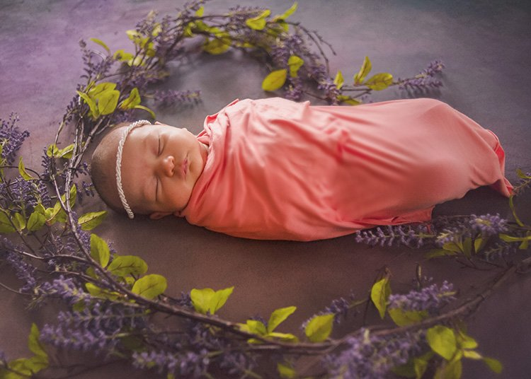 baby photoshoot: loudoun county newborn photographer