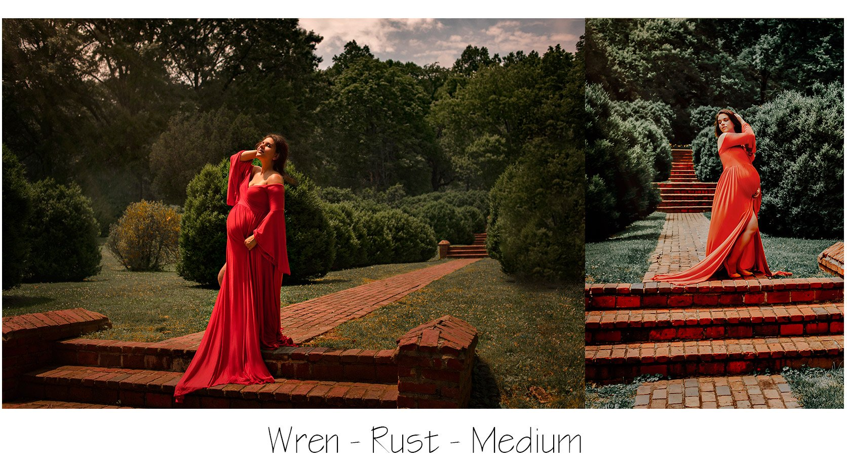 Loudoun County Maternity: Photo Shoot Gown