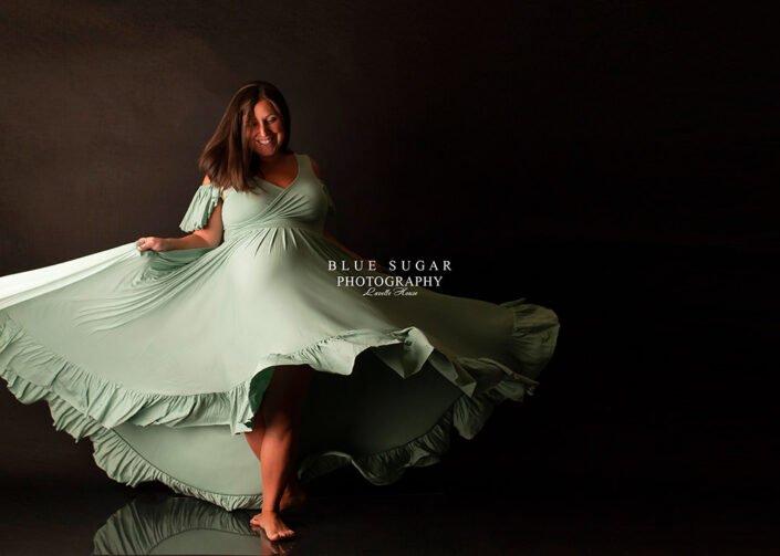 Blue Sugar Photography Maternity Portrait