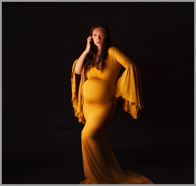 stunning maternity gowns