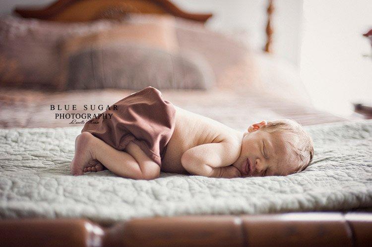 DIY newborn pictures
