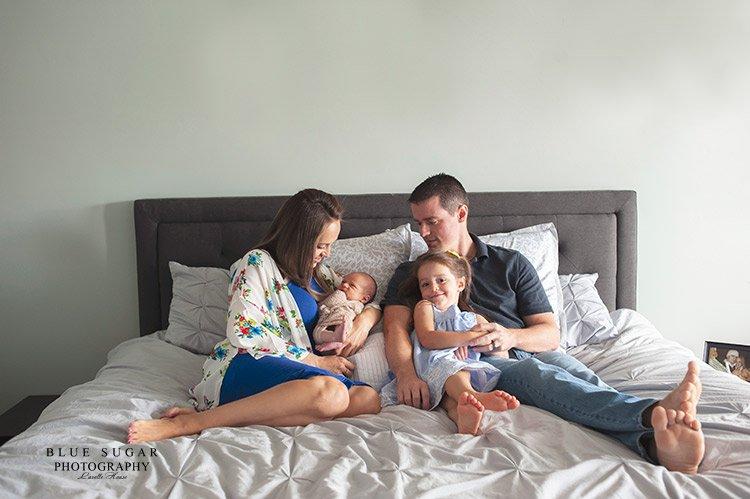 family newborn photo