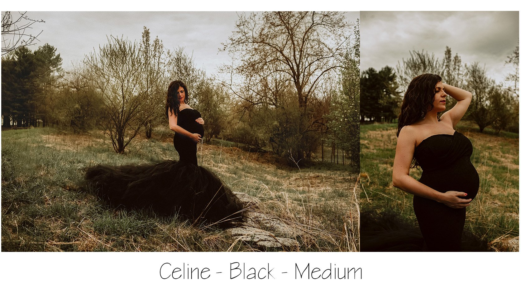 Maternity Photo: Celine Gown
