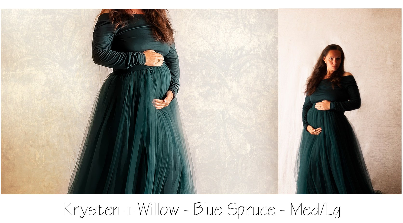 Maternity Photo Shoot Gown
