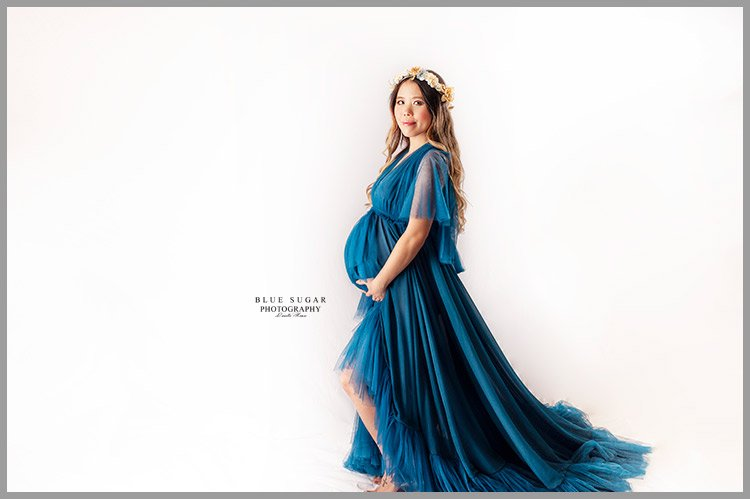 maternity photo session dress